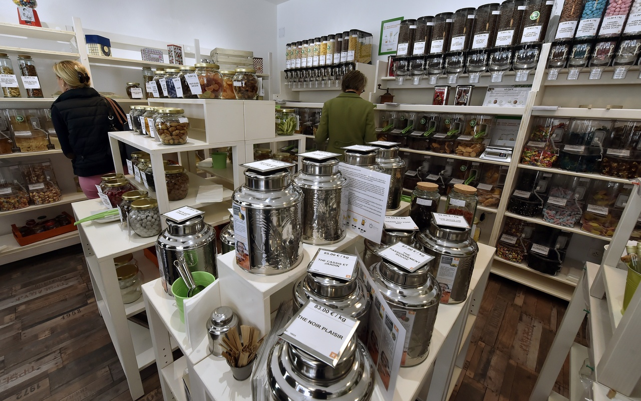 'zero-waste' food store in France