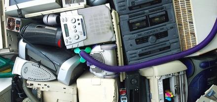 E-Waste Recycling Scrap Electronic